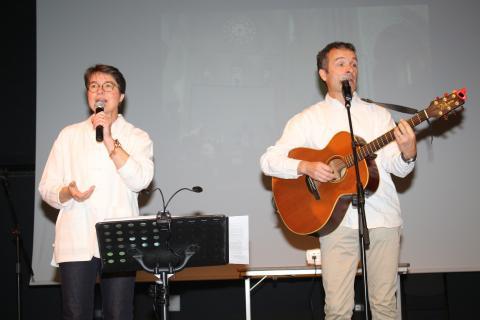 Dominique et Christophe Morandeau